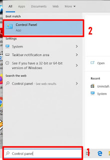 cara kedua tentang Cara Menguninstall Aplikasi Laptop/PC Secara Cepat dan Tepat