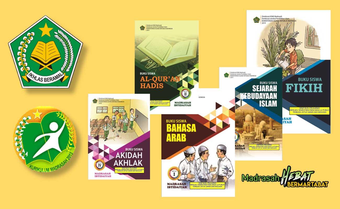 Buku PAI dan Bahasa Arab MI Semua Kelas KMA 183 184 Tahun 2019