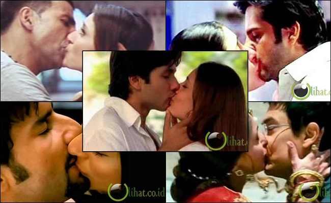 6 Aktor yang Berciuman Bibir dengan Kareena Kapoor di Film
