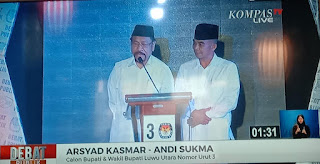 Soal Debat Kandidat, Jubir AKAS: Solusi dari Pak Arsyad Tepat Sasaran