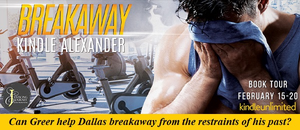 Can Greer help Dallas breakaway from the restraints of his past? Breakaway by Kindle Alexander Blog Tour. Kindle Unlimited.
