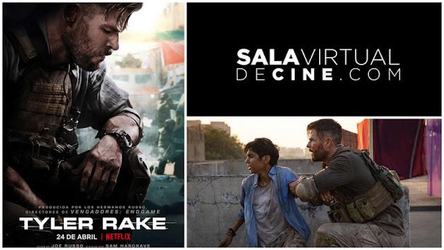 Chris Hemsworth en el tráiler de 'Tyler Rake' e iniciativa sala virtual de cine