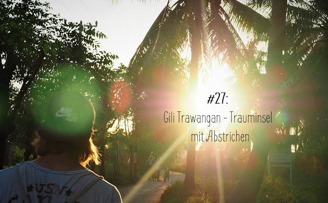Gili Trawangan, Sonnenuntergang