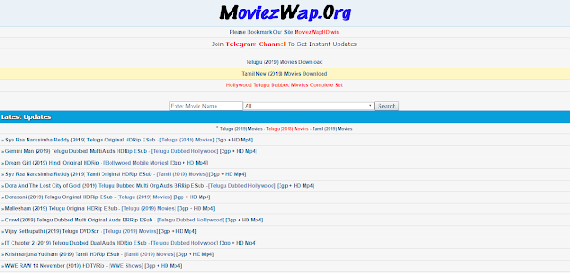MoviezWap Hollywood Dubbed in Hindi, Bollywood Movies Download & New Domain Link