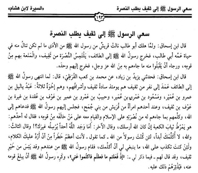 Inilah Aktivitas Thalabun Nushrah dalam Sirah Ibnu Hisyam