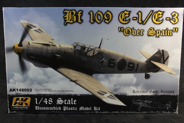 Bf 109 E-1/E-3 Ak Interactive 1/48