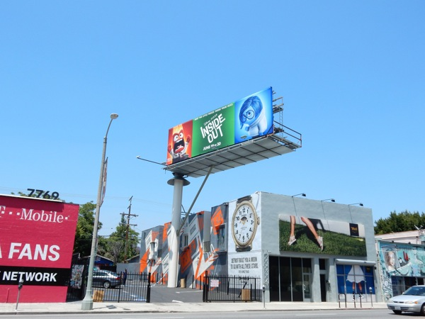 Inside Out movie billboard