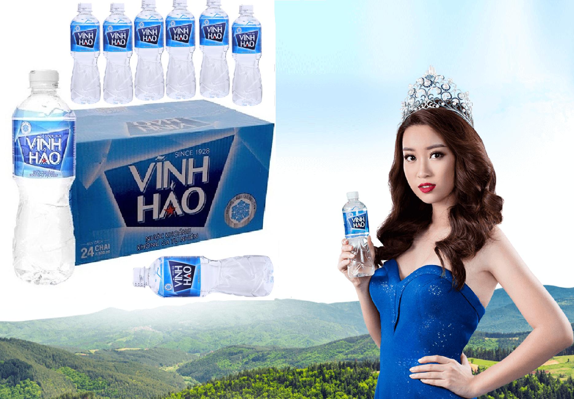 nước khoáng Vĩnh Hảo chai 500ml