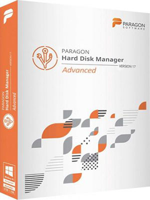 Paragon Hard Disk Manager 17 Advanced 17.13.1 poster box cover