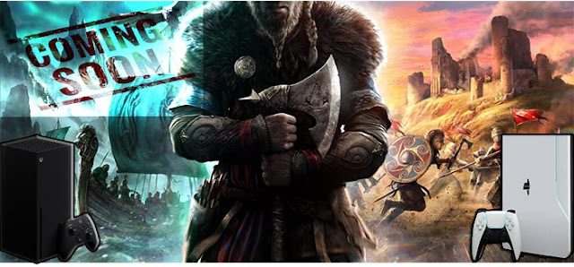 latest news about the game assassin creed valhalla is coming soon  on xbox serie x xbox one ps4 and ps5