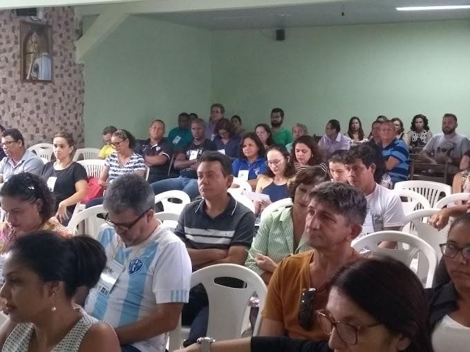 NTE Ananindeua na semana pedagógica da USE 20 em Marituba