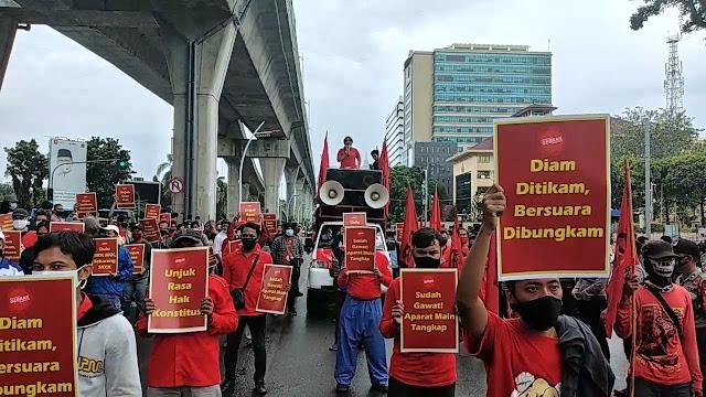 Buruh Tunda Mogok Kerja, Pilih Kepung Istana Negara Esok