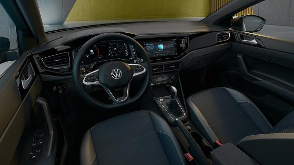 Interior Volkswagen Nivus 2021