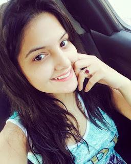 Tanvi Nagi in selfie