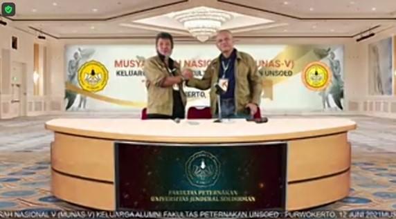 Munas V Kafapet Unsoed : BRJ Lanjutkan Kepemimpinan Kafapet