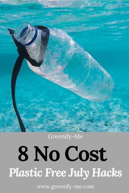 8 No-Cost Plastic Free July Hacks