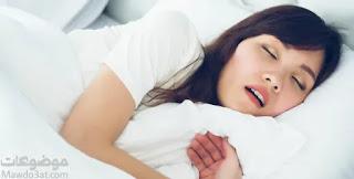 علاج الشخير عند النساء