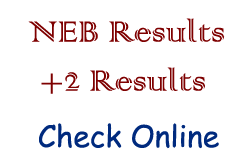 National Examination Board +2 Results With Mark sheet Check Online