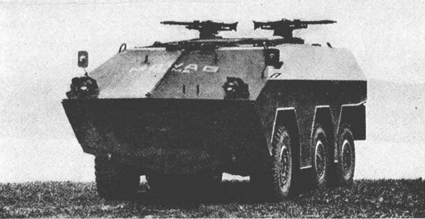 Варіант озброєння Пуми двома 7,62-мм кулеметами на дистанційно керованих лафетах