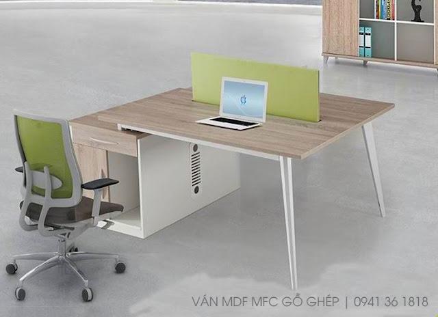 bàn ghế mdf melamine giá rẻ tphcm