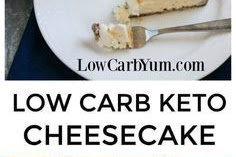 #TOPRECIPES Keto Cheesecake(LOW CARB)