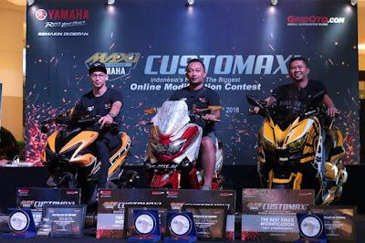 Para pemenang CustoMAXI Yamaha 2018