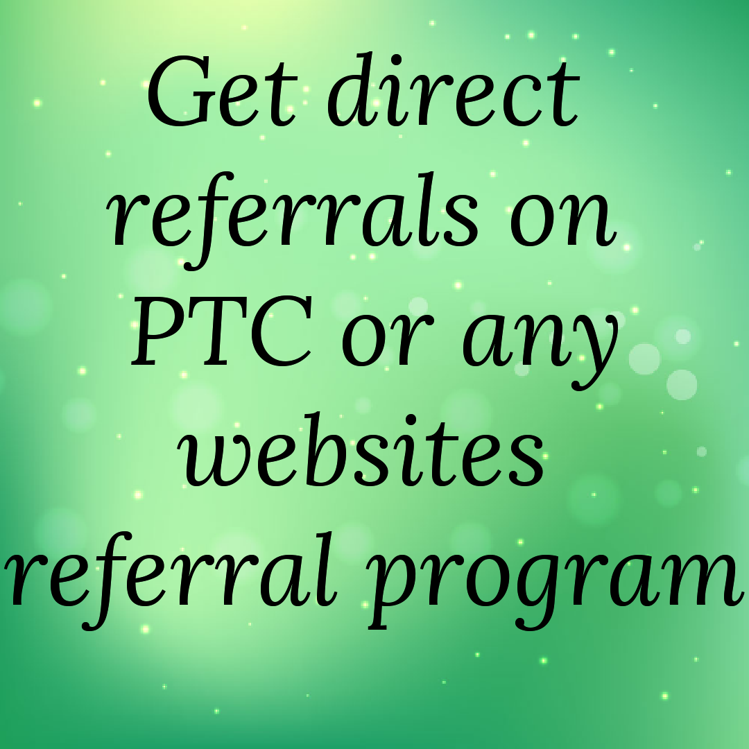 Get direct referrals for