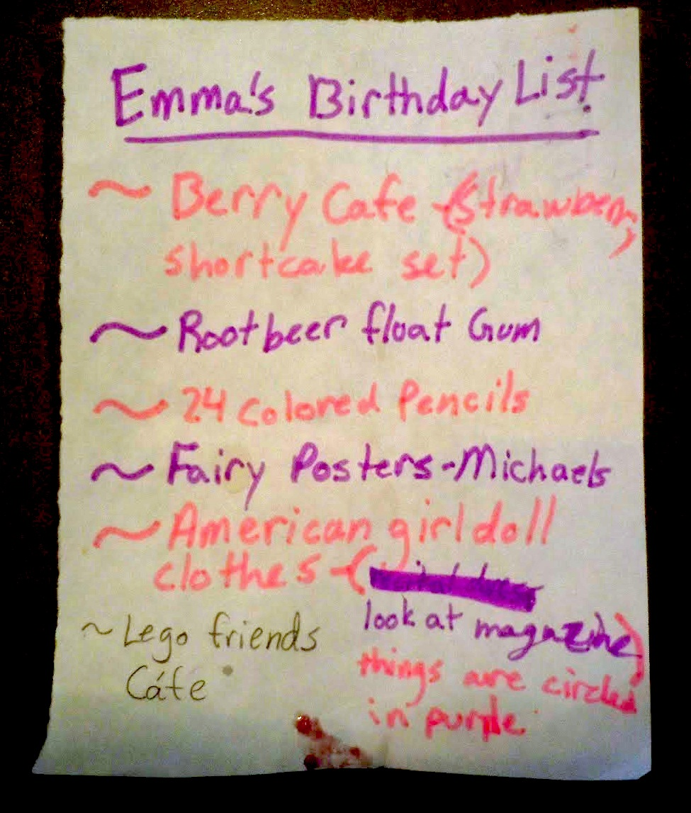 Please Note The Alternating Lines Of Pink Purple Marker Request For Root Beer Float Gum This Exists And Jelly Mark At Bottom