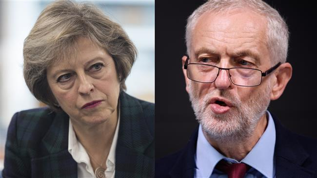 Theresa May launches personal attack on Jeremy Corbyn as Labour closes gap