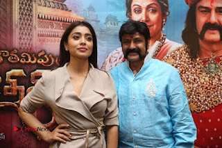 Shriya Saran Nandamuri Balakrishna at Gautamiputra Satakarni Team Press Meet Stills  0209.JPG
