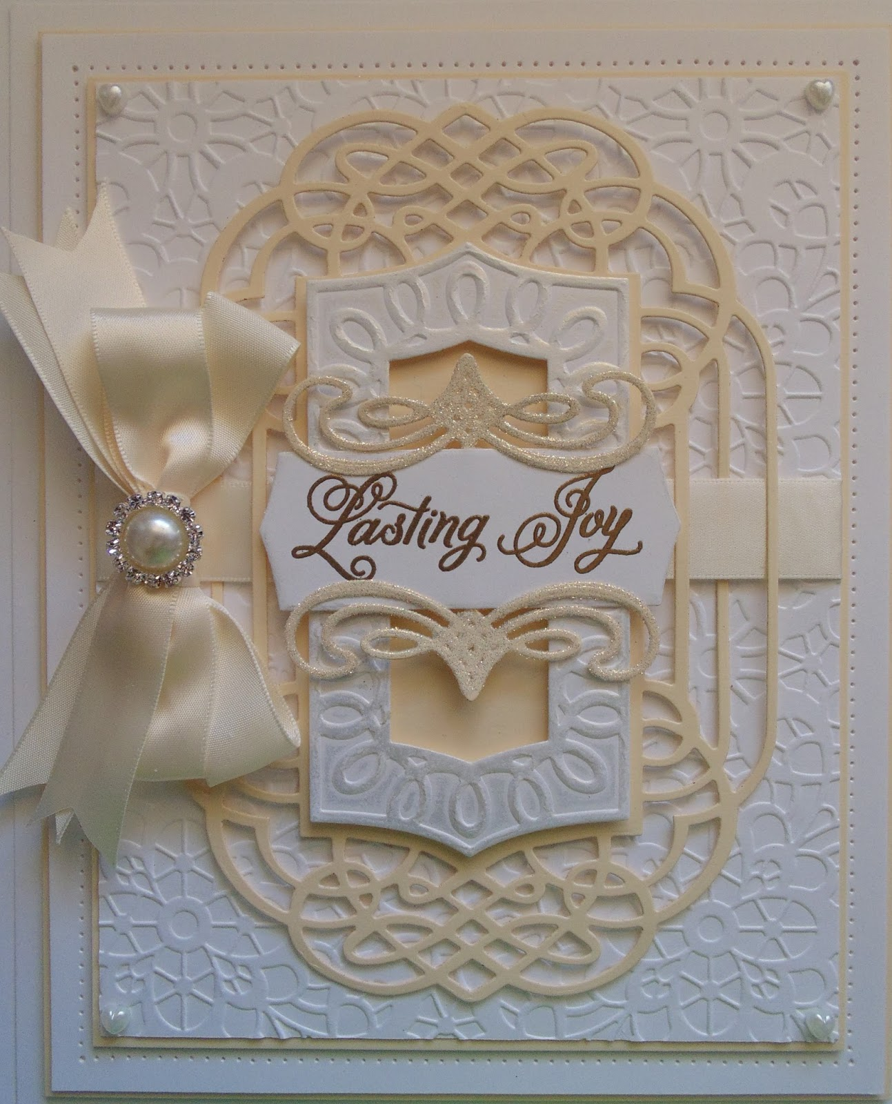 inky finger zone spellbinders wedding collection one day