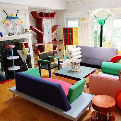 Desain Ruangan Colorfull Minimalis