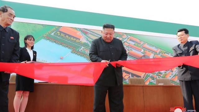 Kim Jong Un Akhirnya Muncul di Depan Publik Usai Dikabarkan Meninggal
