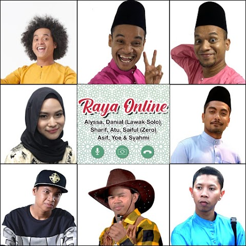 Alyssa, Danial Zaini, Zero, Asif Suhaimi, Yoe Parey & Syahmi Sazli - Raya Online MP3