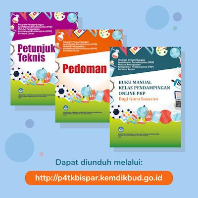 Buku Manual Kelas Pendampingan Online PKP Guru Sasaran dan Guru Inti