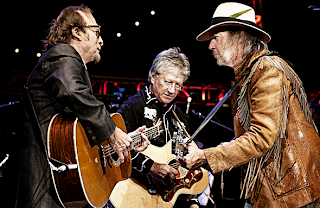 Stephen Stills, Richie Furay y Neil Young. Buffalo Springfield