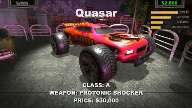 تحميل لعبة سباق السيارات الحربية للكمبيوتر