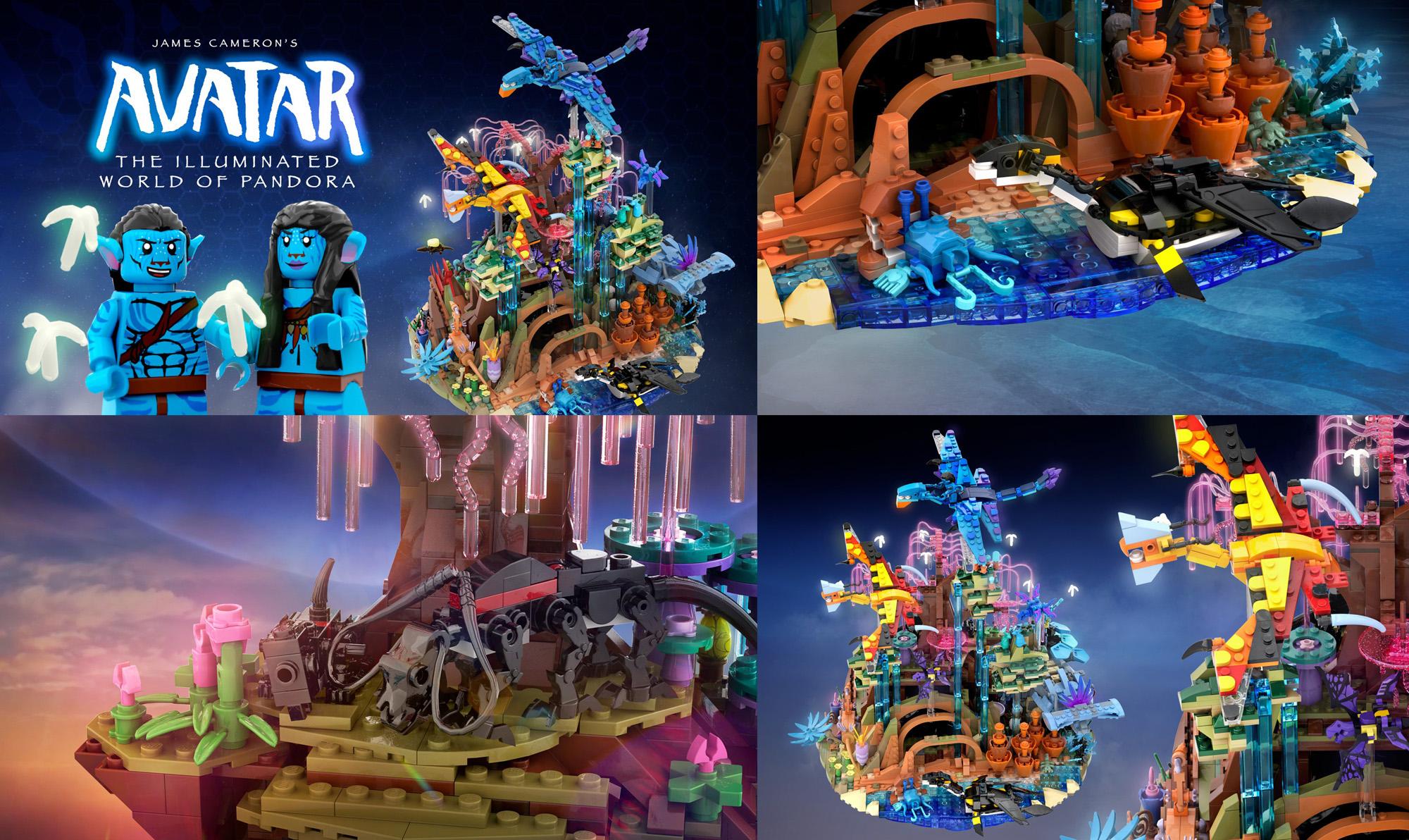 アバター:美しいパンドラの世界:The Illuminated World of Pandora