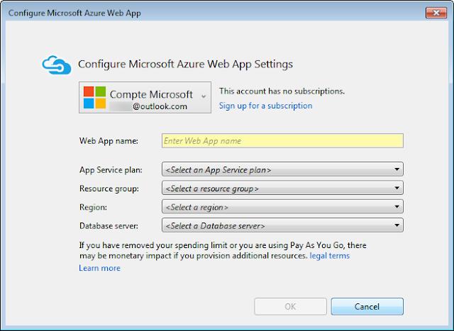 Visual Studio 2015 Community - Encore et encore des options des choix des truc des machins ...