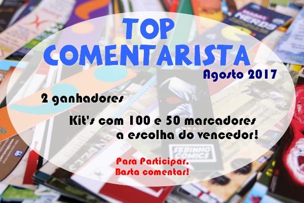 TOP COMENTARISTA - Agosto/2017