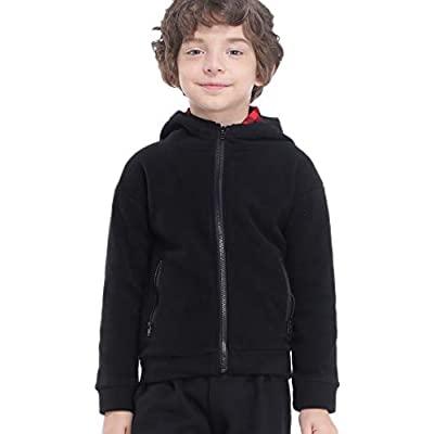 80% OFF  Boys Fleece Jacket Soft Fleece Full Zip Hoodies