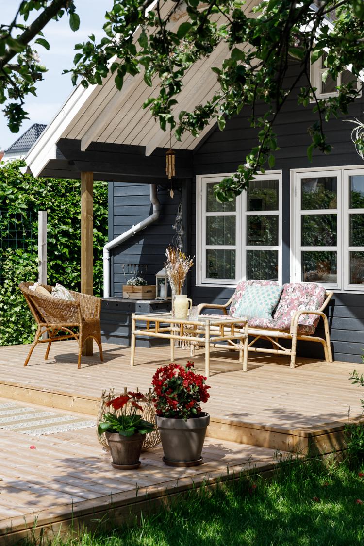 An Endearing Danish Summer Cabin on an Allotment