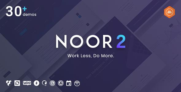 Noor v2.9.8 – Fully Customizable Creative AMP Theme