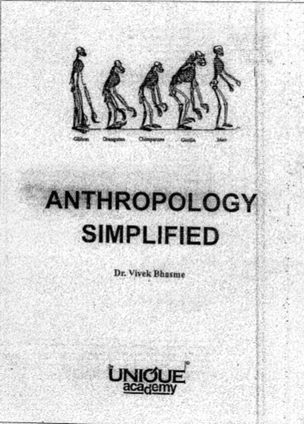 Anthropology-Simplified-by-Dr.-Vivek-Bhasme-For-UPSC-Exam-PDF-Book