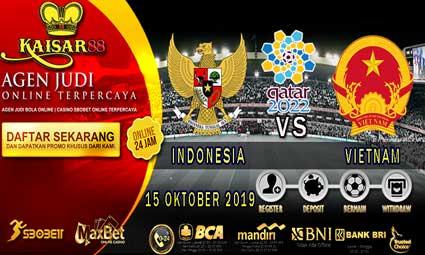 PREDIKSI BOLA TERPERCAYA INDONESIA VS VIETNAM 15 OKTOBER 2019