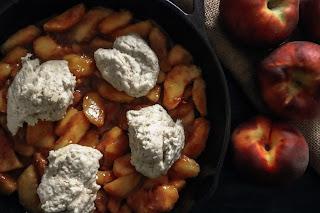vegan peach recipes