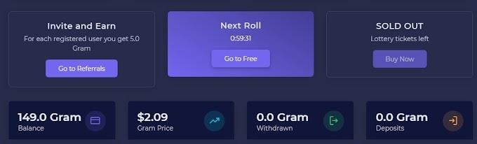 Gram free coin से कमाएं डेली 20$ totaly free
