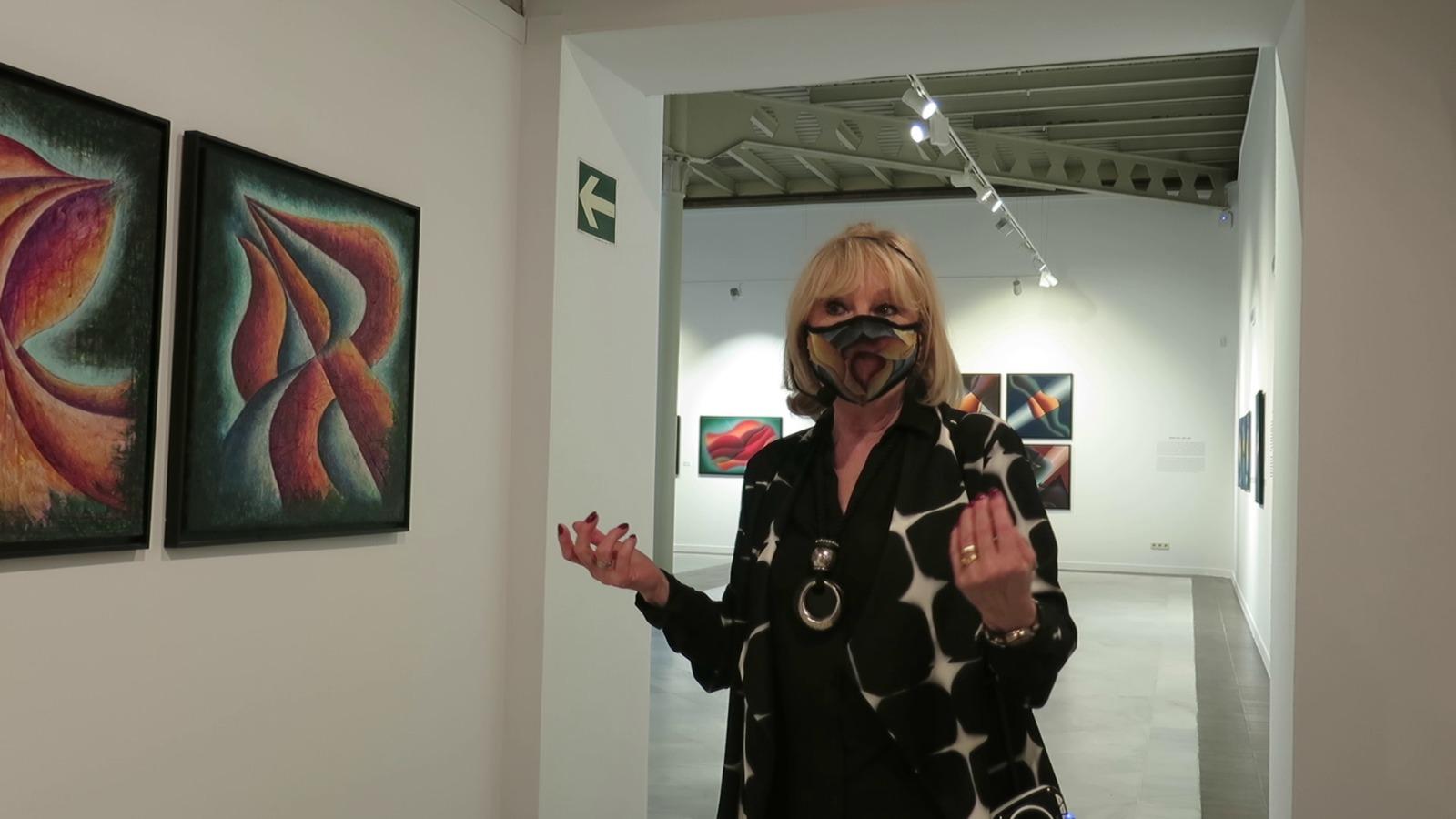 La Mirada Actual Adriana Zapisek Buscando Lo Sublime Exposición En La Casa De Vacas Del Retiro