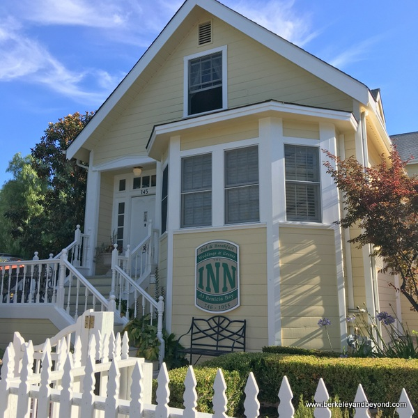 exterior of The Inn at Benicia Bay in Benicia, California