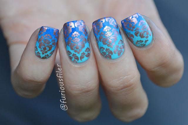 blue gradient moyou london stamp #31dc2015